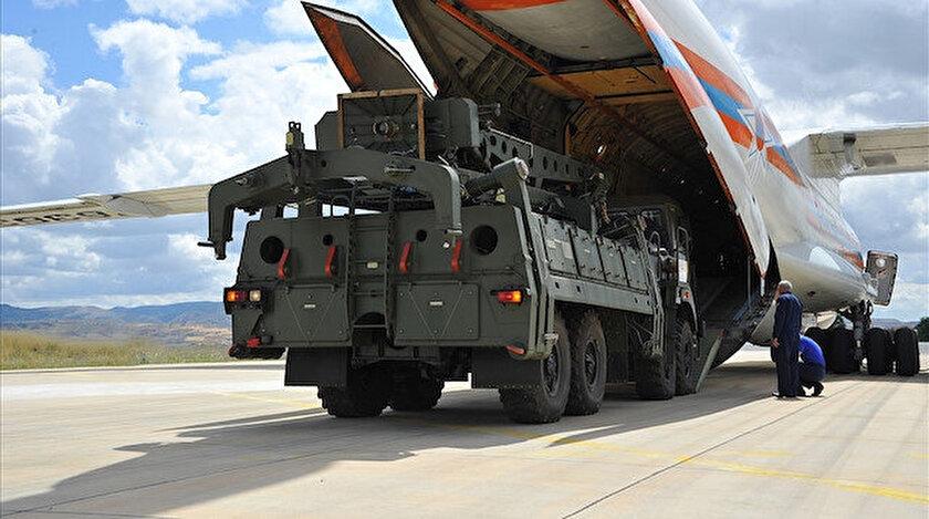 S-400 hava savunma füzesi Mürted'e böyle getirildi.
