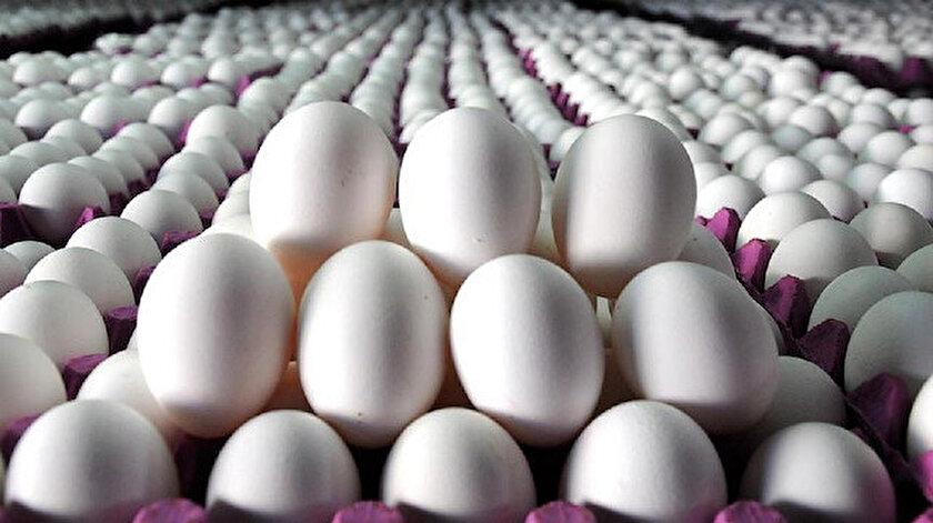Tavuk yumurtası üretimi azaldı.