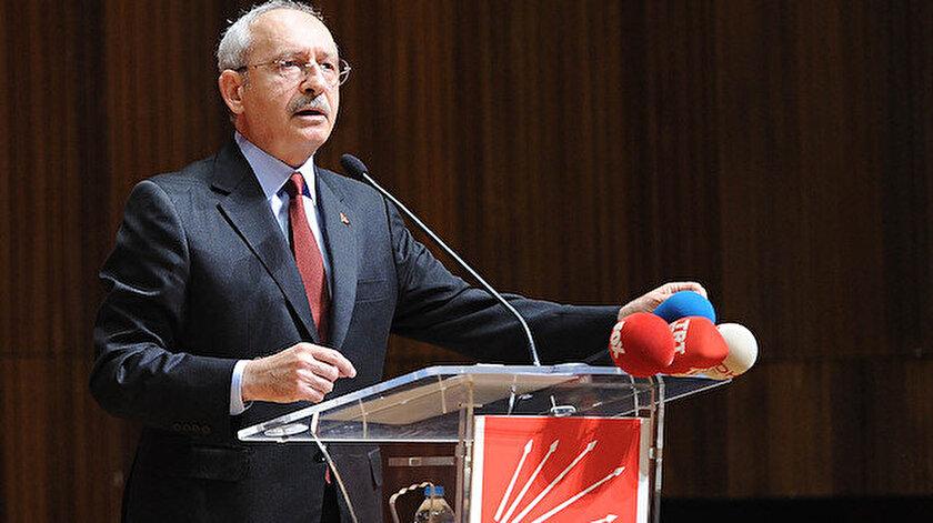 CHP Genel Başkanı Kemal Kılıçdaroğlu.