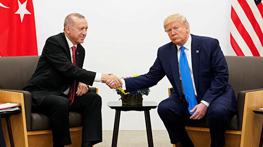 Arşiv: Cumhurbaşkanı Erdoğan ile ABD Başkanı Trump, G20 Zirvesinde bir araya gelmişti.