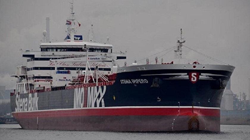 İngiliz tankeri Stena İmpero'da 23 mürettebat bulunuyor