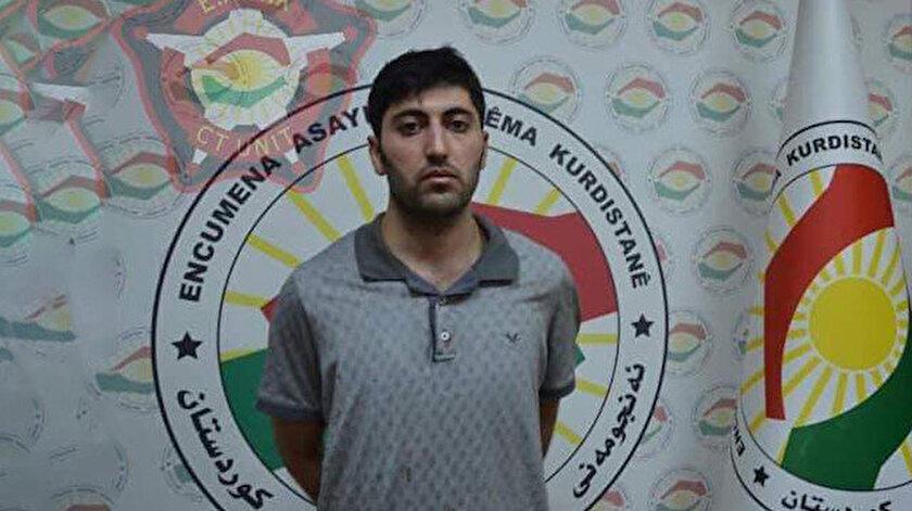 Türk Diplomat Köse'yi şehit eden terörist Mazlum Dağ'ın yakalandıktan sonraki ilk fotoğrafı.