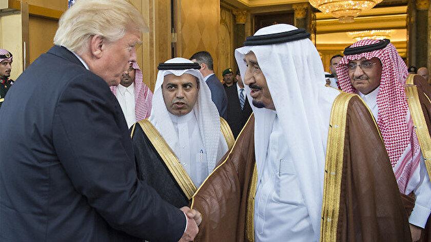 ABD Başkanı Donald Trump ve Suudi Kral Selman bin Abdulaziz