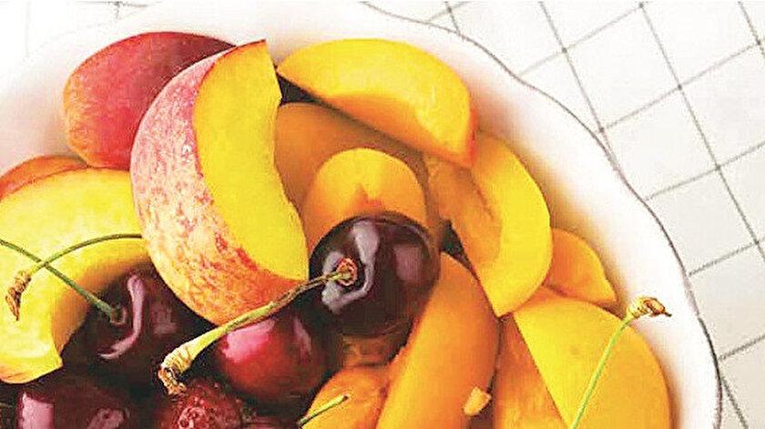 Meyveli tarifler ferahlatıyor
