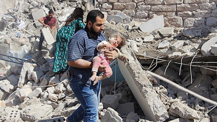İdlib, ağır bombardıman altında