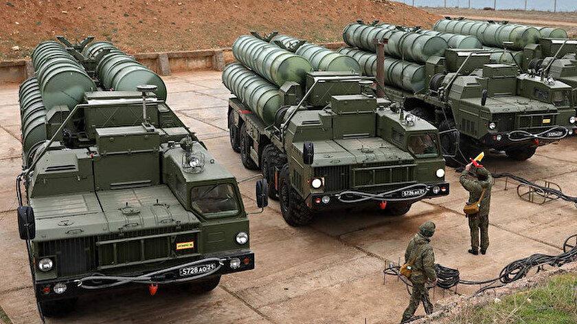 S-400 hava sistemleri.