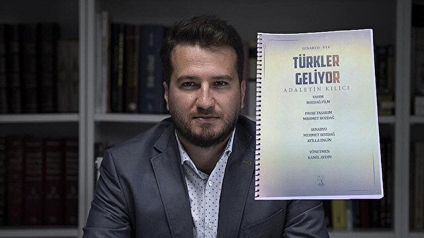 """Bozdağ'ın yeni projesini """"Türkler Geliyor"""" ismiyle duyurdu."""
