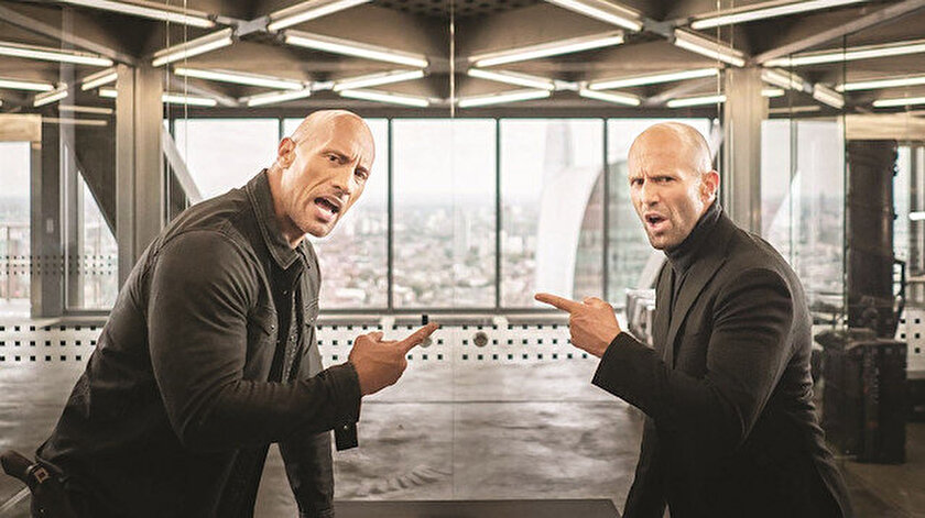 Dwayne Johnson ve Jason Statham
