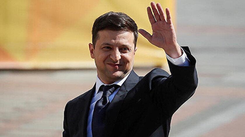 Ukrayna Devlet Başkanı Vladimir Zelenskiy.
