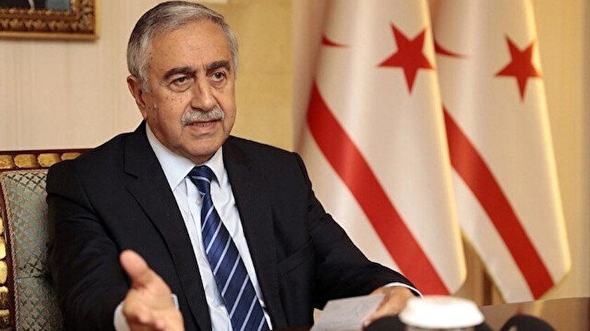 Kuzey Kıbrıs Türk Cumhuriyeti Cumhurbaşkanı Mustafa Akıncı.