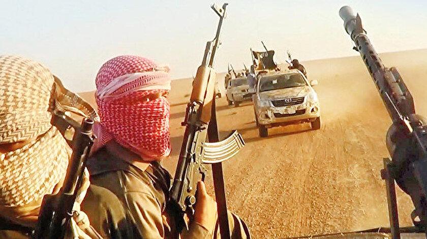 DEAŞ'lı teröristler