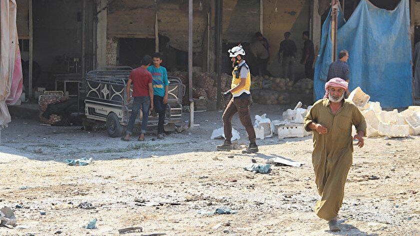 Suriye'nin kuzeybatısındaki İdlib ili neredeyse iç savaşın başından bu yana muhaliflerin kalesi niteliğinde bulunuyor.