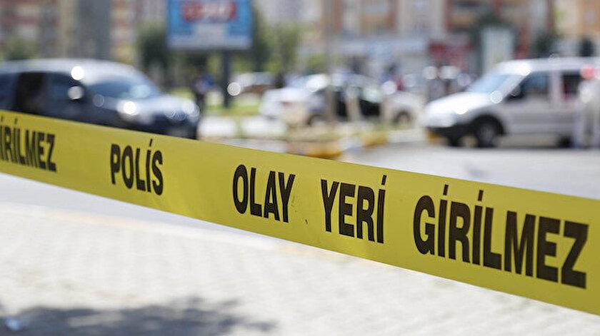 Olayın ardından bölgeye gelen polis ekipleri güvenlik şeridi çekti. Fotoğraf: Arşiv.