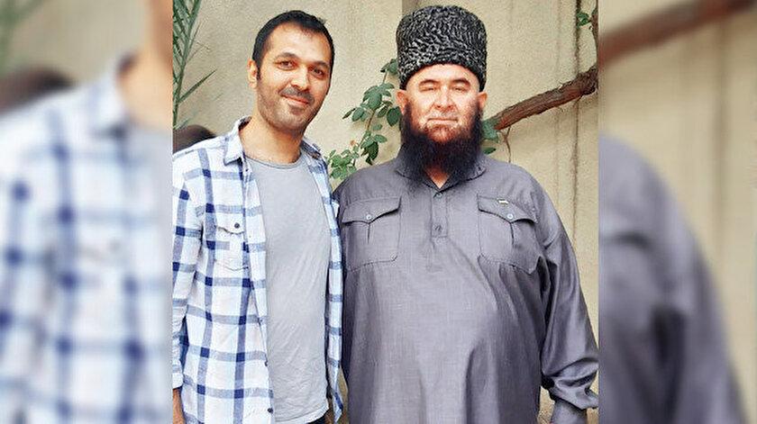 Talha Menteş ve Molaev  Ramazan (Sağda)