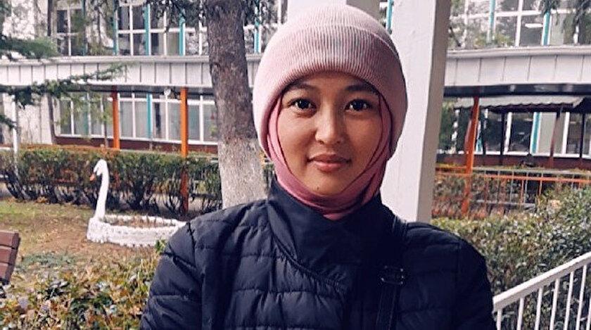 Kırgız Nuraıym Usmanova.