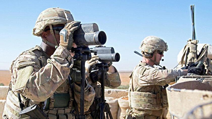 ABD'li askerler. Fotoğraf: Arşiv.