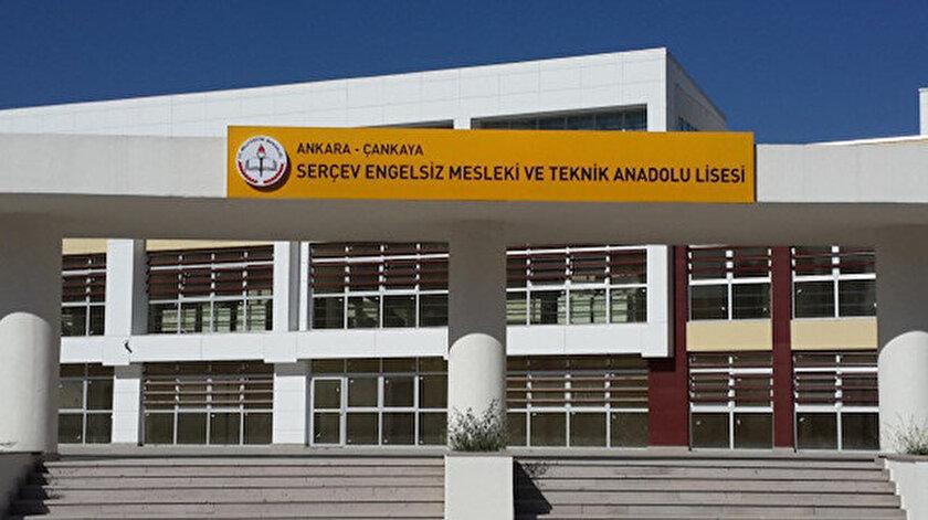 MEB SERÇEV Engelsiz Mesleki ve Teknik Anadolu Lisesi