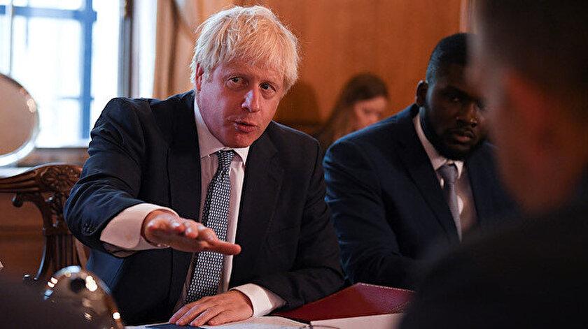 İngiltere Başbakanı Boris Johnson.