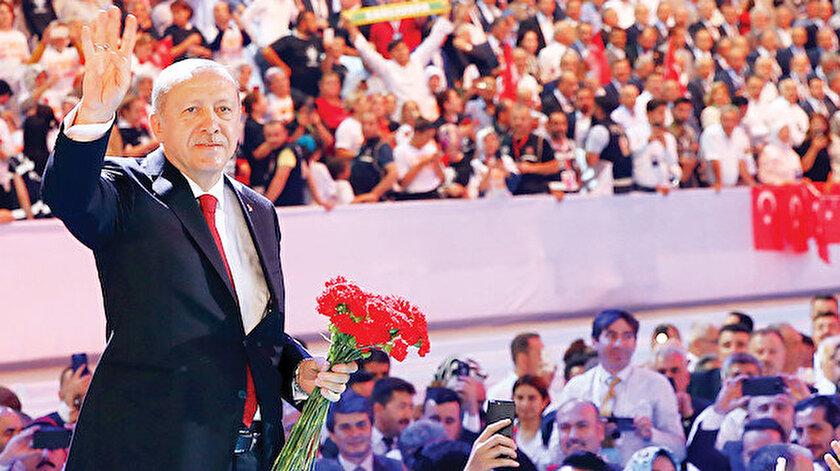 """Partinin 18. kuruluş yıl dönümü olan 14 Ağustos tarihi bu sene Kurban Bayramı'na rastladığı için kutlama programı 23 Ağustos'ta, """"Türkiye Sevdasıyla Yaşımız Hep 18"""" temasıyla genel merkezde yapılacak."""