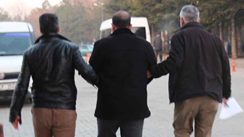 Gözaltına alınan kişi Emniyet'e götürüldü. Fotoğraf: Arşiv.