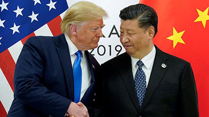 ABD Başkanı Donald Trump ve Çin Devlet Başkanı Xi Jinping.
