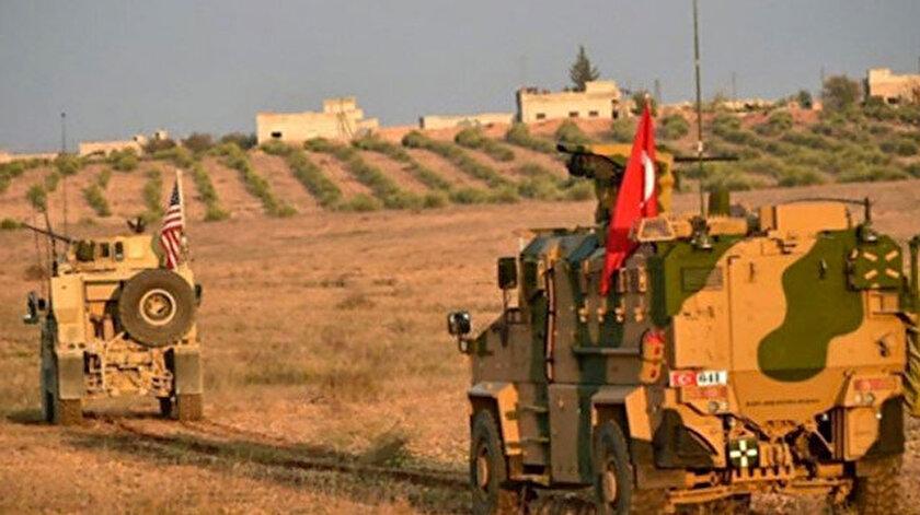 Türk ve ABD askeri araçları, Suriye.
