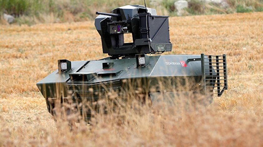 Orta sınıf insansız kara aracı Demirhan.