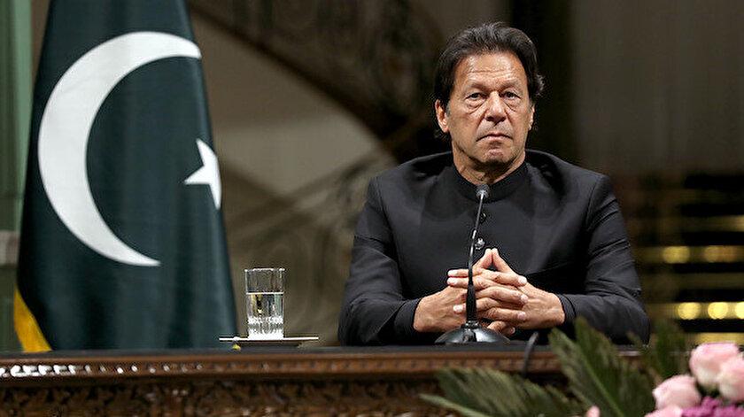 Pakistan Başbakanı İmran Han.