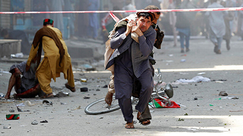 Afganistan'da patlama.