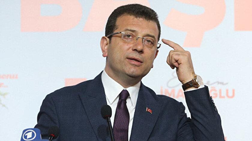 İBB Başkanı Ekrem İmamoğlu.