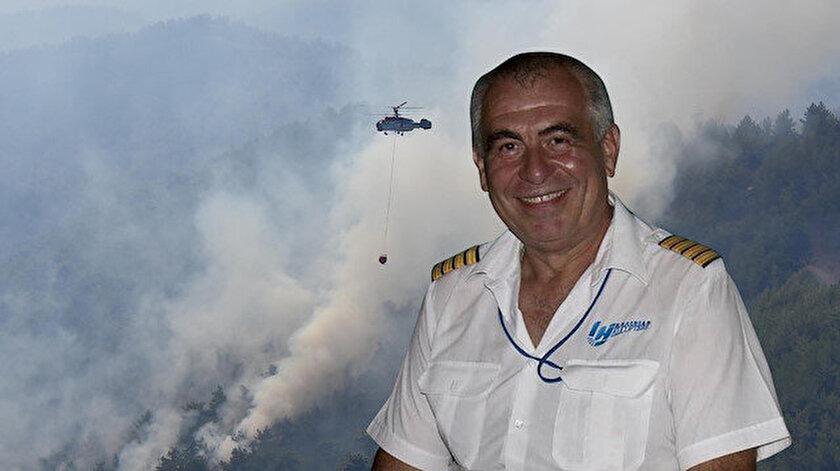 Ukraynalı pilot Yuri Bostnik