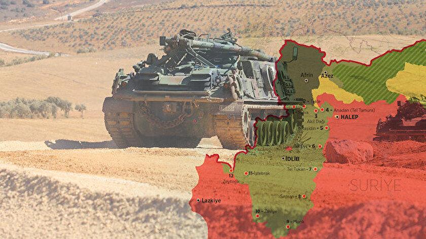 TSK'nın Suriye'deki bazı gözlem noktalarının çevresinde rejim güçlerinin sayısı artıyor.