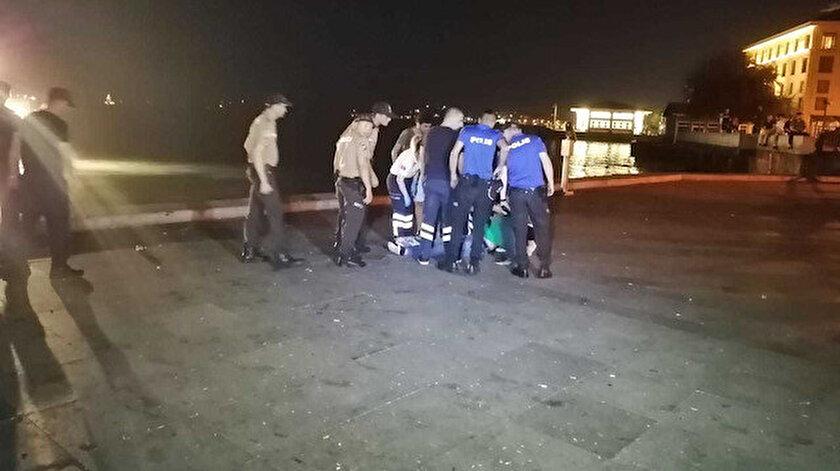 Bayram Demir'in cansız bedeni iskelenin 5 metre açığında bulundu.  
