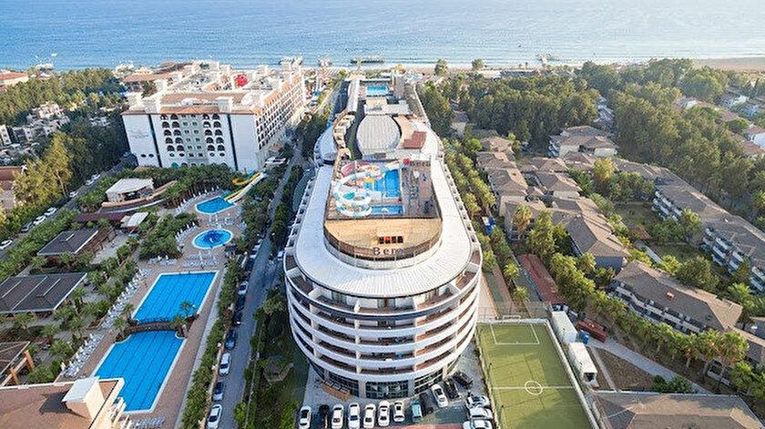 Alanya'da, yaz sezonunda otellerdeki doluluk yüzde yüze ulaştı.