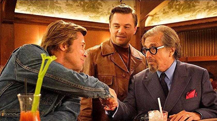 Brad Pitt, Leonardo DiCaprio ve Al Pacino