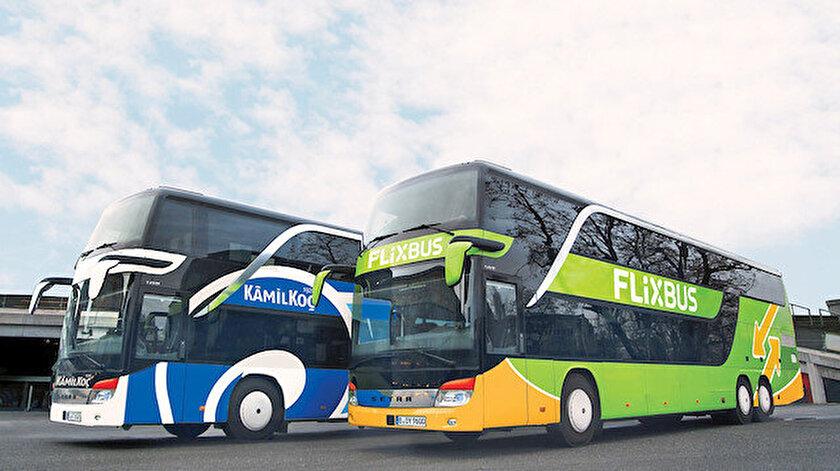 Kamilkoç ve Flixbus otobüsleri
