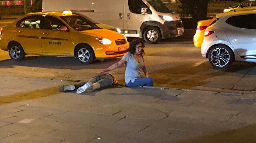 Ankara'da sokak ortasındaki tartışma kanlı bitti