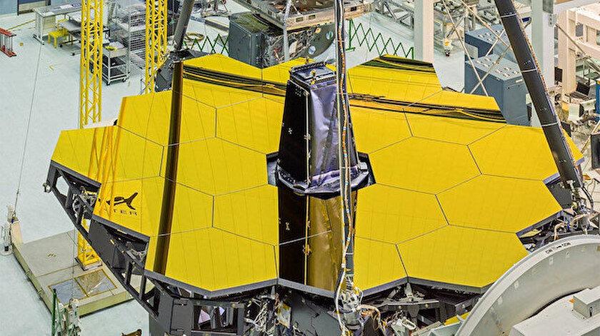 James Webb Uzay Teleskobu'nun parçaları bir araya getirildi