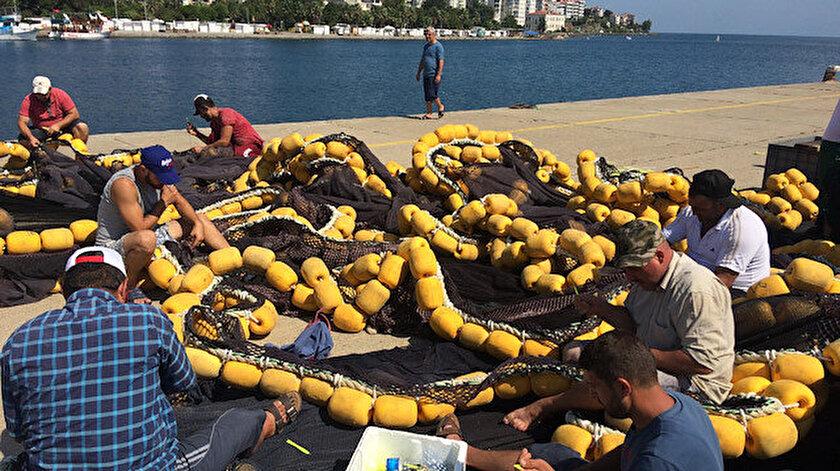 Sinop'ta 1 Eylül itibarıyla 100'ün üzerinde balıkçının denize açılması bekleniyor.