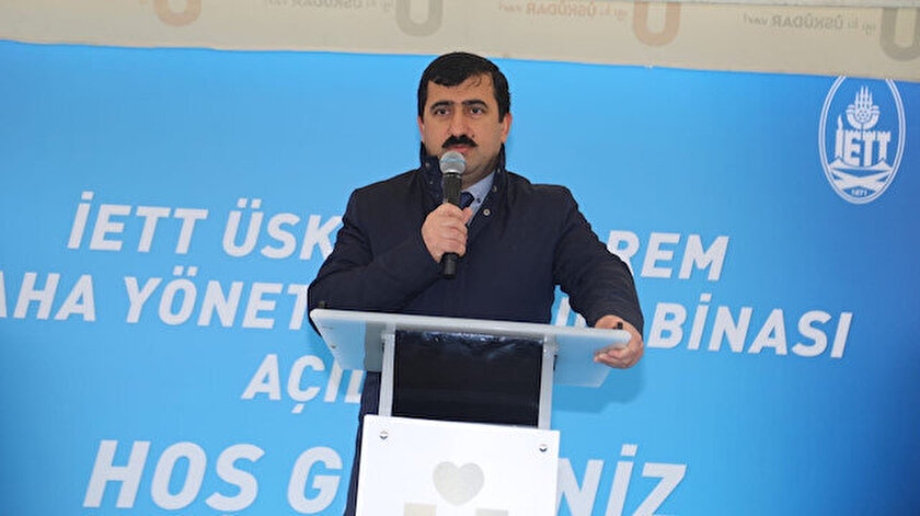 İETT Genel Müdürü Ahmet Bağış.