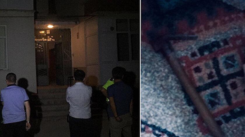 Gürültüyü duyan komşularının ihbarı üzerine olay yerine polis ve sağlık ekipleri sevk edildi.