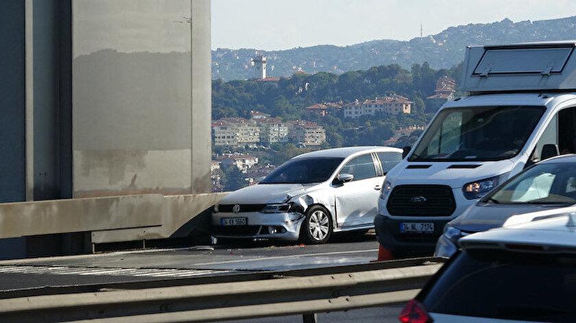 Kaza sonrası Edirne istikameti kapandı.
