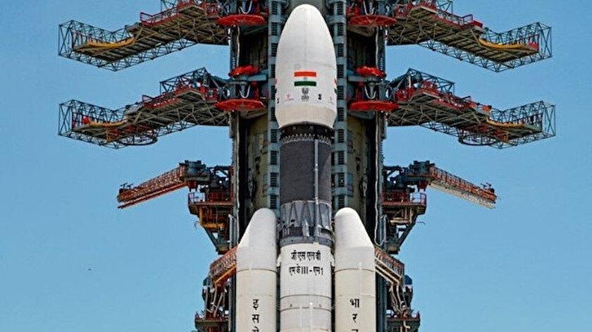 Chandrayaan-2 insansız uzay aracı