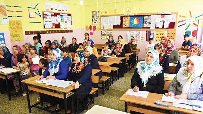 Seferberlikte okuma yazma kurslarına en çok katılımı 775 bin 174 kişi ile kadınlar gösterdi.