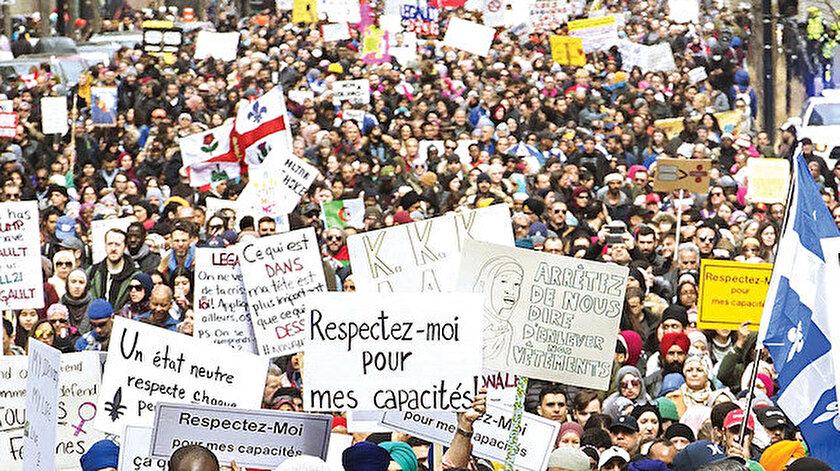 Kanadalı Müslümanlar olaya büyük tepki gösterdi.