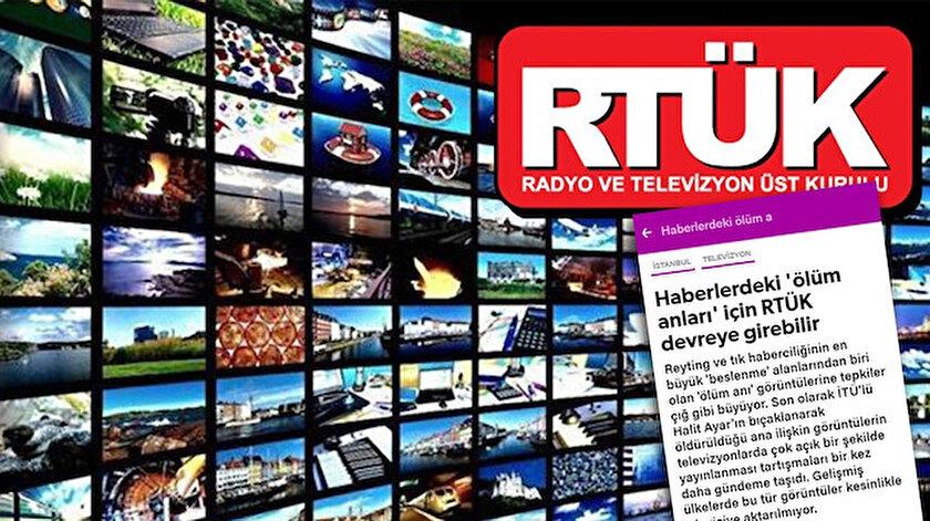 Yenisafak.com'un şiddet görüntülerinin yayınlanmasına ilişkin haberinin ardından RTÜK'den de bu konuda açıklama geldi.