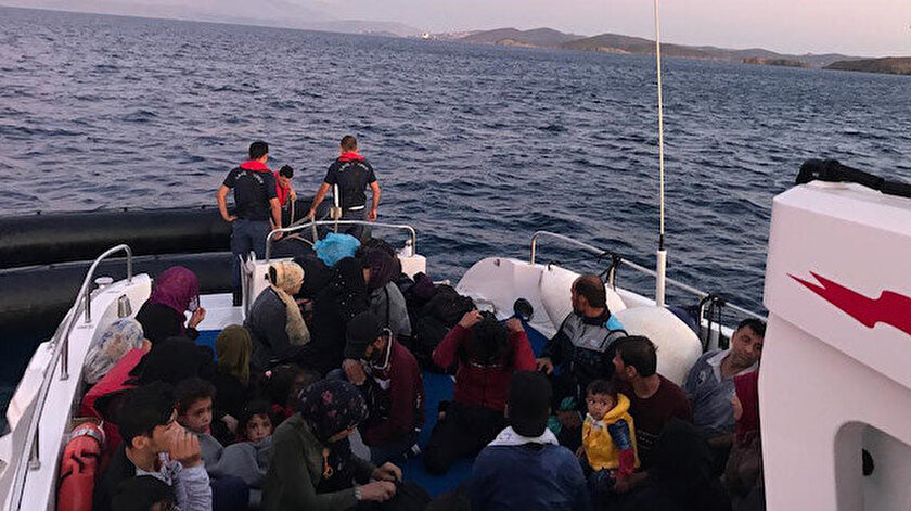 Yakalanan göçmenler
