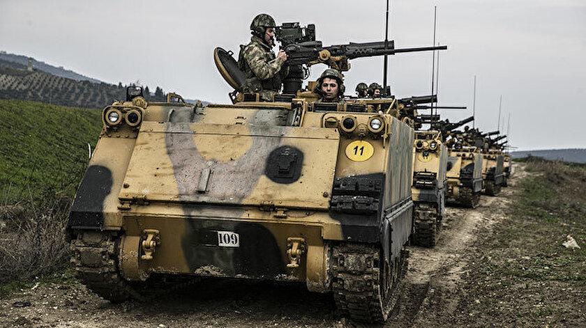 Türk Silahlı Kuvvetleri, Suriye'nin doğusundaki terör yuvalarını temizlemek için sınıra binlerce tank ve komando sevkiyatı gerçekleştirmişti.