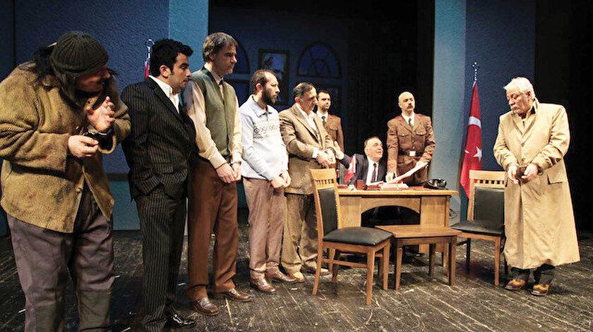 Necip Fazıl'ın 'Reis Bey' oyunu 2017'de sahnelenmeye başlandı.