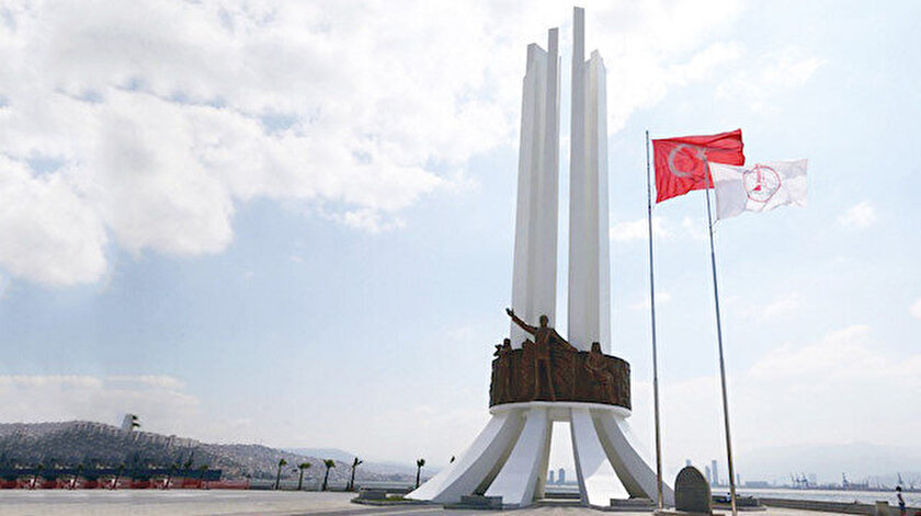 Karşıyaka Belediyesi anıt için 2 yılda 11 milyon lira harcadı.